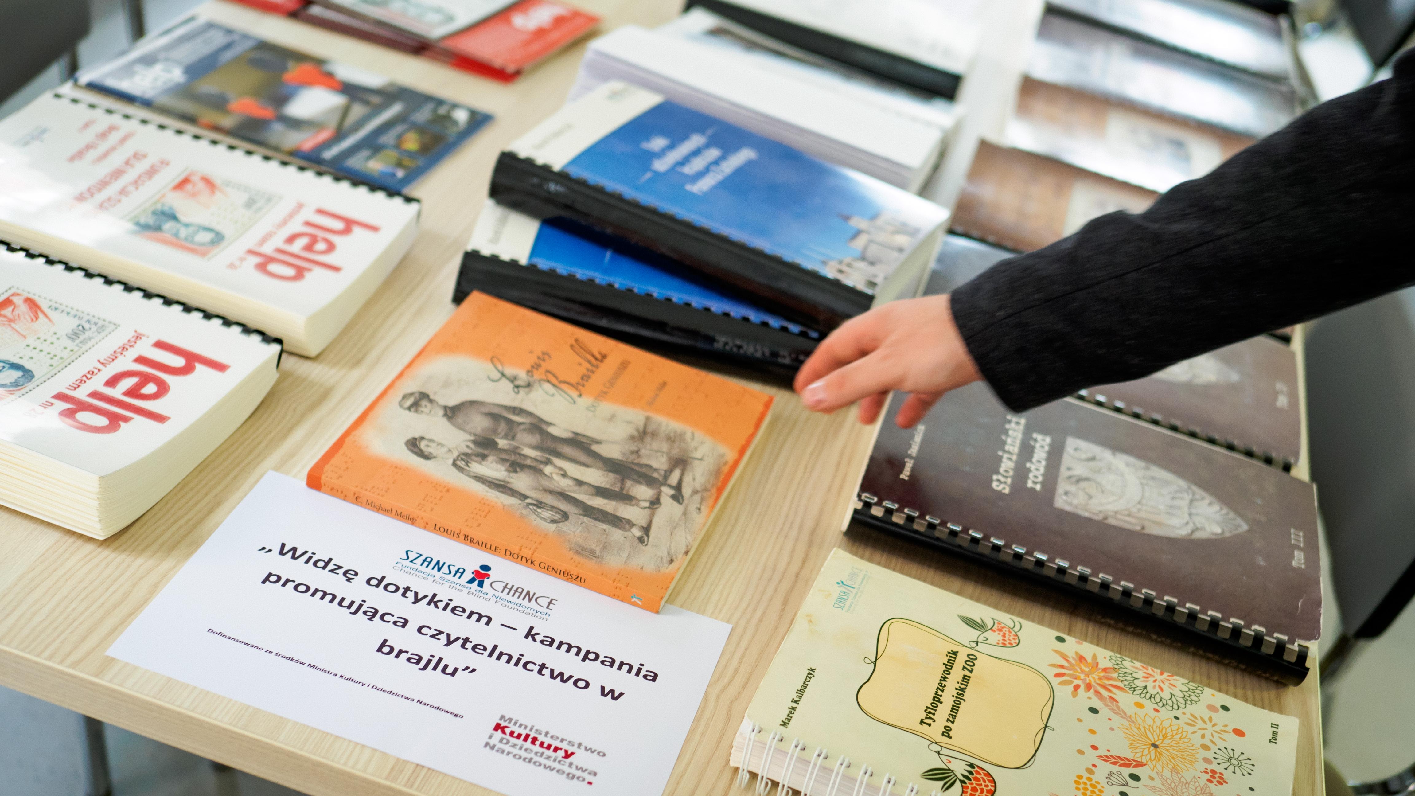 Publikacje brajlowskie