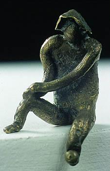 przybliżenie na jedną ze statuetek